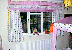 A Girls Bedroom In Liberty Fabric