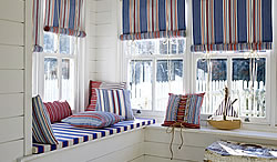 Brighton Roman Blinds