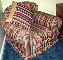 Striped Fabric - Armchair