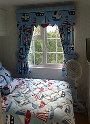 Boy's Boat Curtains