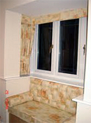 Modern Bay Window With Window Seat